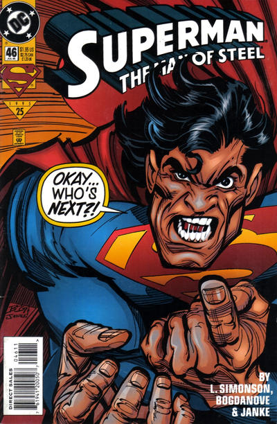 Superman: Man of Steel Vol 1 46