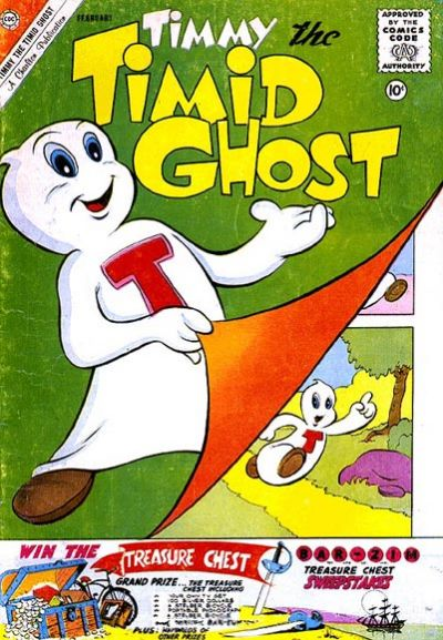 Timmy the Timid Ghost Vol 1 25