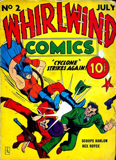 Whirlwind Comics Vol 1 2