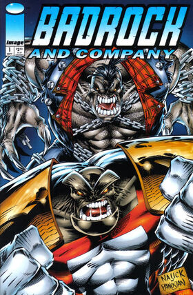 Cover for Badrock & Company #1 (1994)