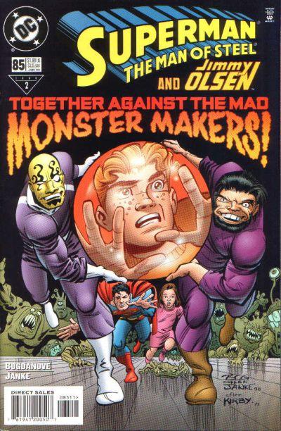 Superman: Man of Steel Vol 1 85