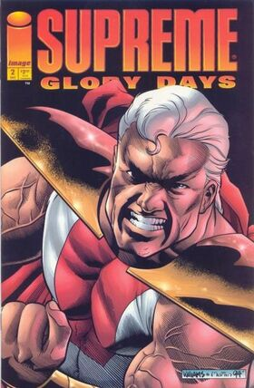 Cover for Supreme: Glory Days #2 (1994)