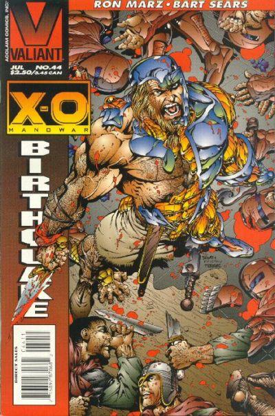 X-O Manowar Vol 1 44