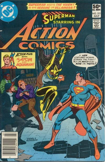 Action Comics Vol 1 521