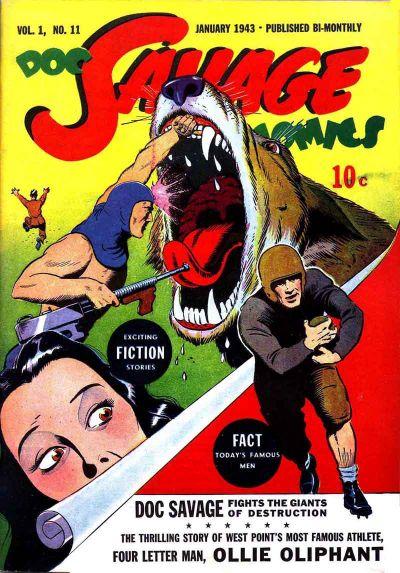 Doc Savage Comics Vol 1 11