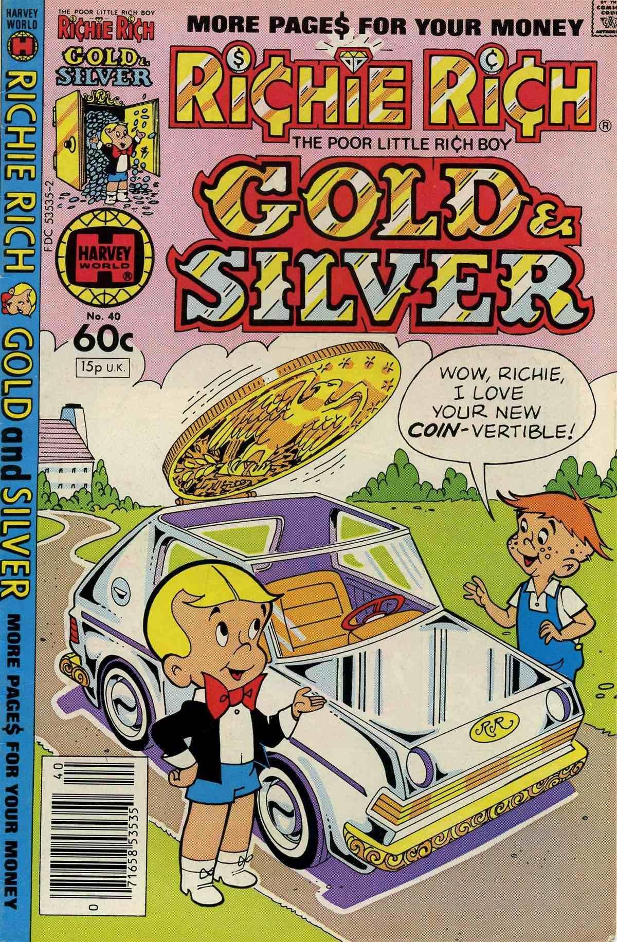 Richie Rich Gold & Silver Vol 1 40