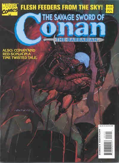 Savage Sword of Conan Vol 1 223