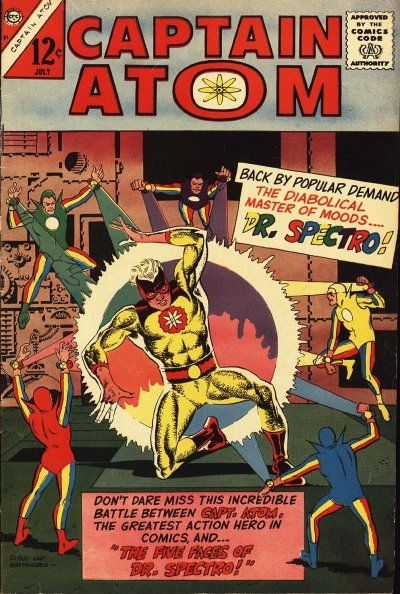 Captain Atom Vol 1 81