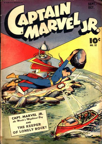 Captain Marvel, Jr. Vol 1 32