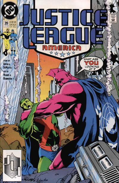 Justice League America Vol 1 39