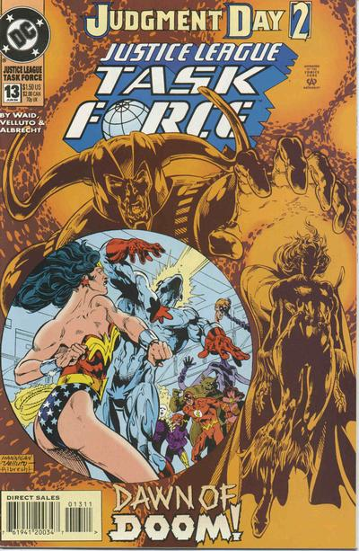 Justice League Task Force Vol 1 13
