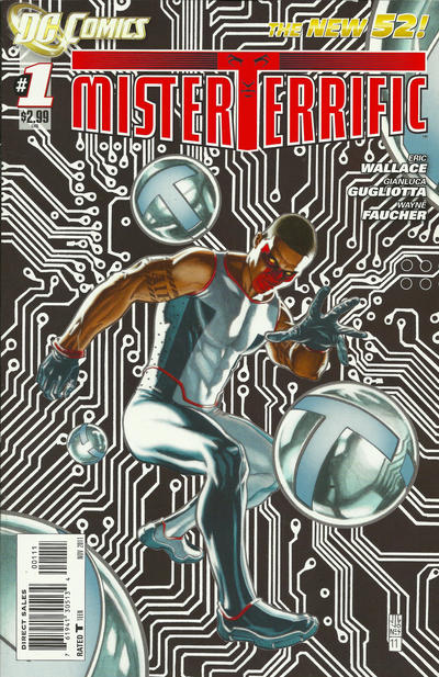 Mister Terrific/Covers