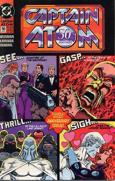 Captain Atom Vol 1 50
