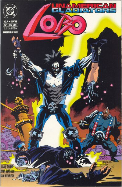 Lobo: Unamerican Gladiators Vol 1 4