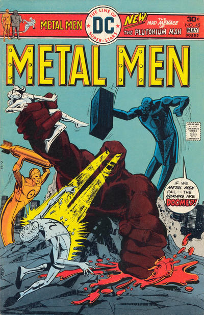 Metal Men Vol 1 45