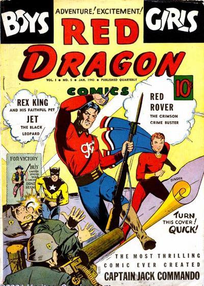 Red Dragon Comics Vol 1 5