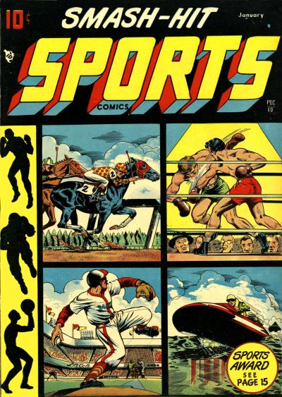 Smash Hit Sports Comics Vol 1 1