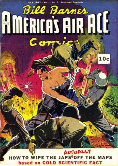 Bill Barnes, America's Air Ace Comics Vol 1 7