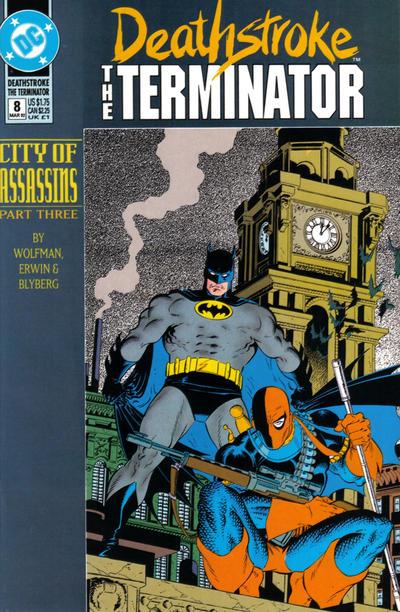 Deathstroke the Terminator Vol 1 8