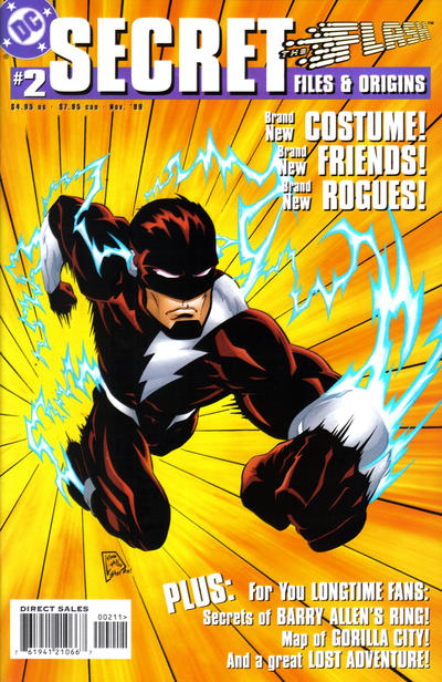 Flash Secret Files and Origins Vol 1 2