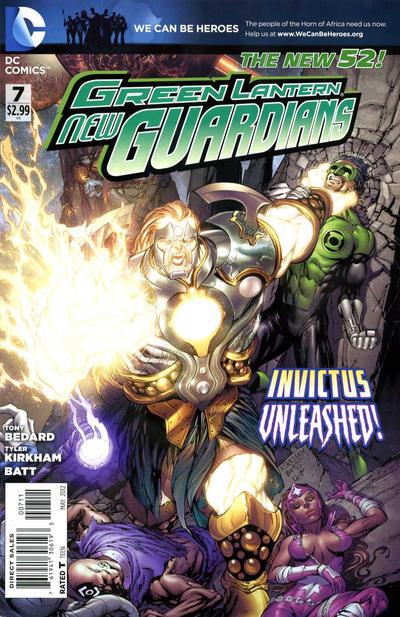 Green Lantern: New Guardians Vol 1 7