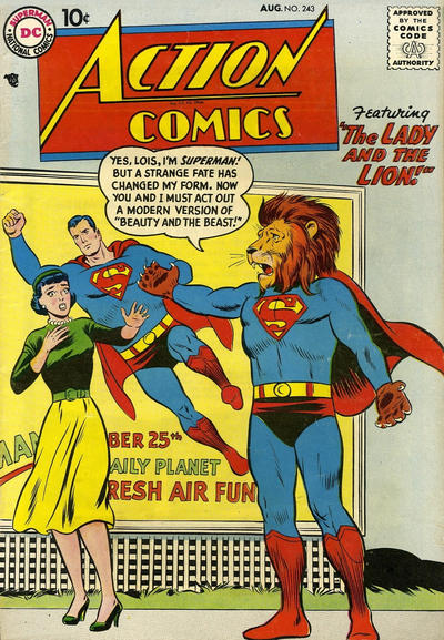 Action Comics Vol 1 243
