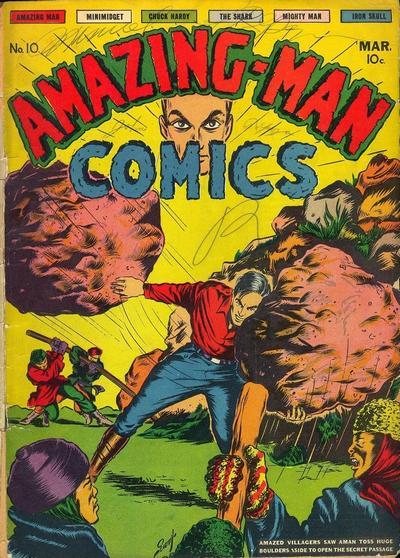 Amazing Man Comics Vol 1 10