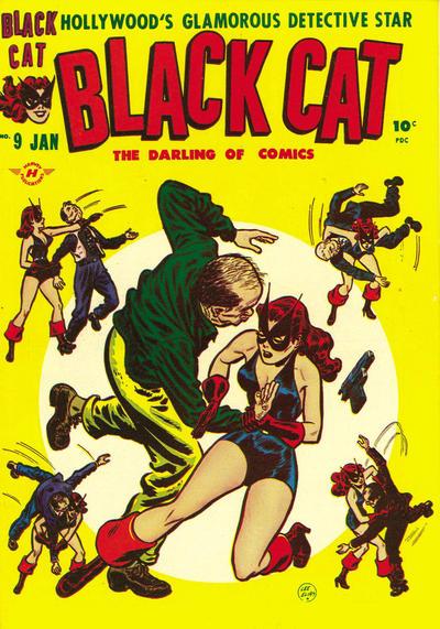 Black Cat Comics Vol 1 9