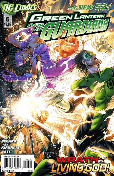 Green Lantern: New Guardians Vol 1 6