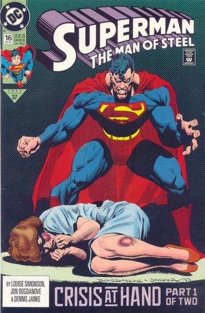 Superman: Man of Steel Vol 1 16