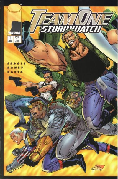 Team One: StormWatch Vol 1 1