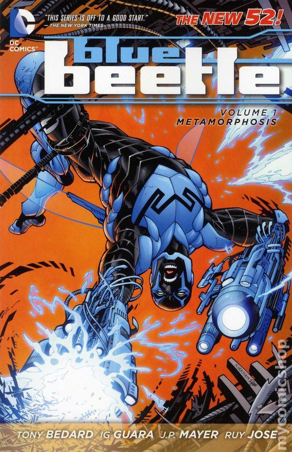 Blue Beetle (TPB) Vol 8 1