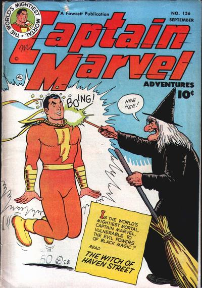 Captain Marvel Adventures Vol 1 136