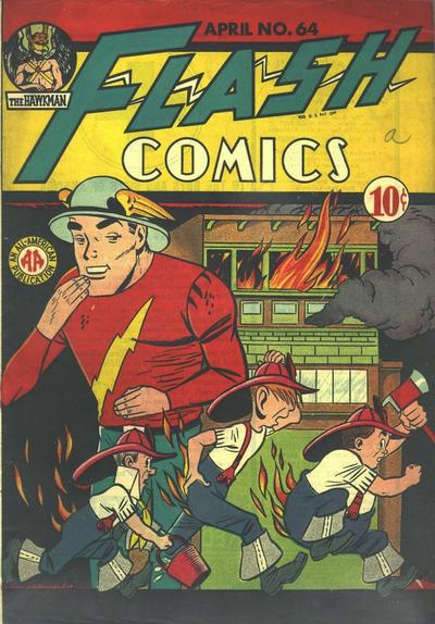 Flash Comics Vol 1 64