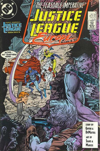 Justice League Europe Vol 1 7