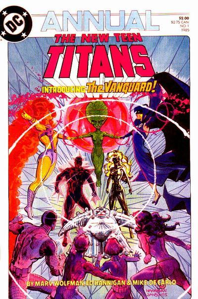 New Teen Titans Annual Vol 2 1