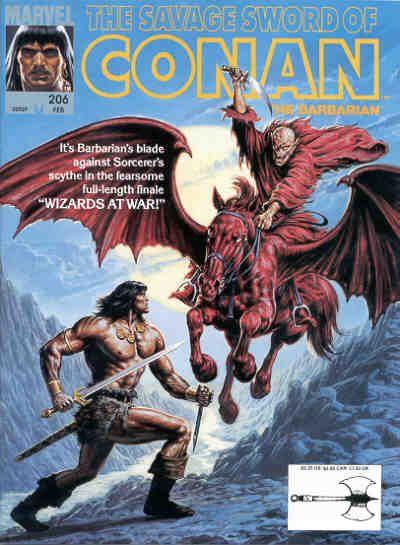 Savage Sword of Conan Vol 1 206