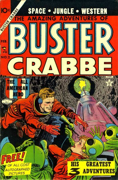 The Amazing Adventures of Buster Crabbe Vol 1 2