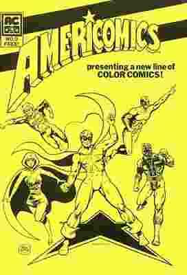 Americomics Vol 1 0