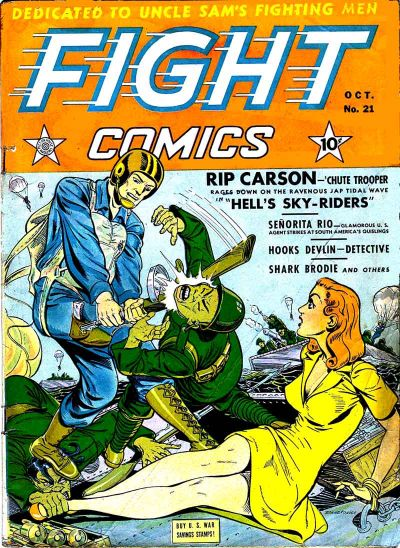 Fight Comics Vol 1 21