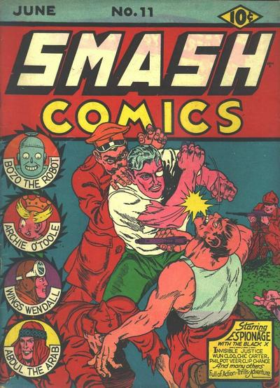 Smash Comics Vol 1 11