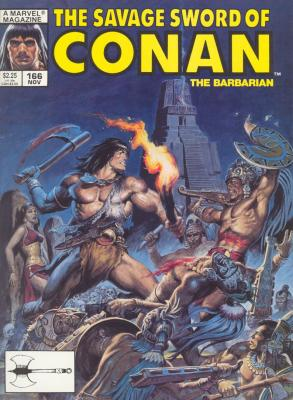 Savage Sword of Conan Vol 1 166