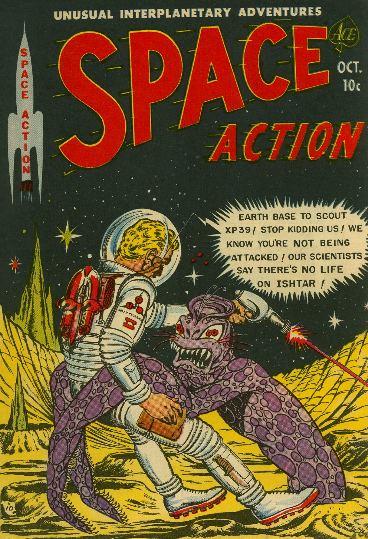 Space Action Vol 1 3