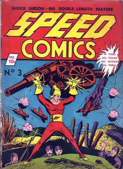 Speed Comics Vol 1 3