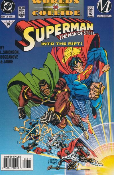 Superman: Man of Steel Vol 1 36