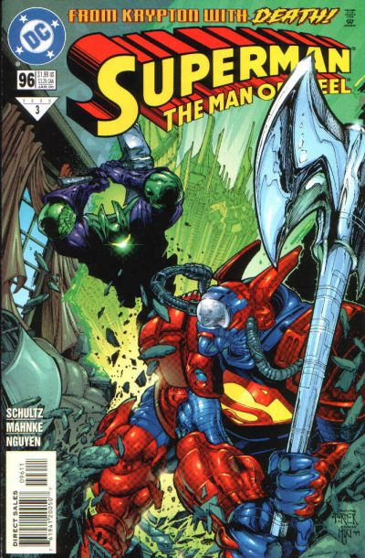 Superman: Man of Steel Vol 1 96