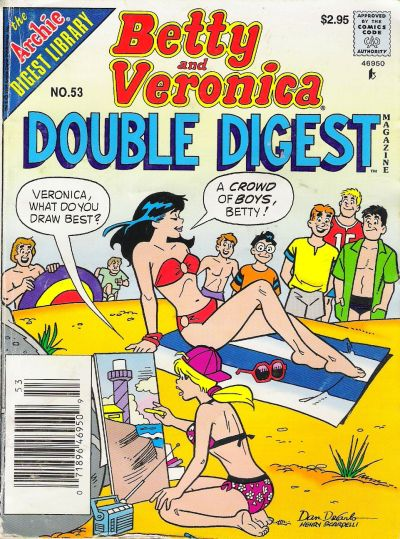 Betty and Veronica Double Digest Magazine Vol 1 53