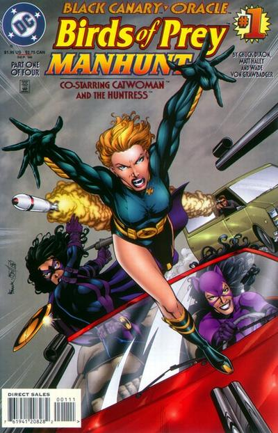 Birds of Prey: Manhunt/Covers