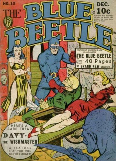 Blue Beetle (Fox) Vol 1 10