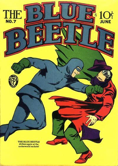 Blue Beetle (Fox) Vol 1 7